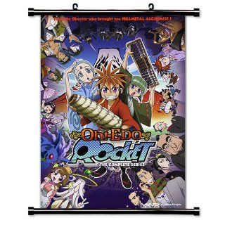 Oh! Edo Rocket Anime Fabric Wall Scroll Poster (16 x 22) Inches   Prints