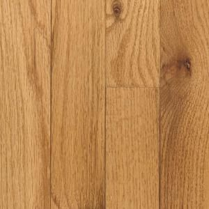 Mohawk Raymore Red Oak Butterscotch 3/4 in. Thick x 2 1/4 in. Wide x Random Length Solid Hardwood Flooring (18.25 sq. ft./case) HCC56 22
