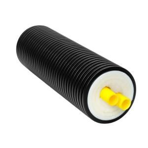 32 mm x 125 mm OD Jacket x 100 ft. Insulated Barrier PEX Dual Pipe RPI32D 100