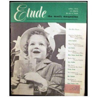 ETUDE: THE MUSIC MAGAZINE (Vol. 17, No. 4, April 1953): Guy (Ed. ) McCoy: Books