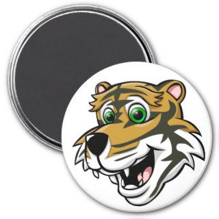 Cartoon Tiger Refrigerator Magnet