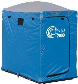 Clam� 2000 Cabin 2   man Icefishing Shelter  Fishing Ice Fishing Shelters  Sports & Outdoors