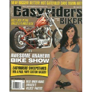 Easyriders Combined with Biker Magazine ~ April 2012 #466 New Bigger Better Dave Mann Art Gatefold: Dave Mann: Books