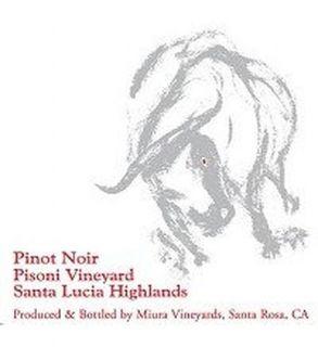 Miura Pinot Noir Pisoni Vineyard 2009 750ML: Wine