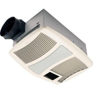 NuTone Ultra Silent 110 CFM Ceiling Exhaust Fan with Light and Heater QTXN110HFLT