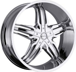 MILANNI   458 phoenix   28 Inch Rim x 9.5   (6x135/6x5.5) Offset (30) Wheel Finish   Chrome: Automotive