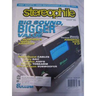 Stereophile Magazine Vol. 27, No. 8 August 2004: John Atkinson: Books