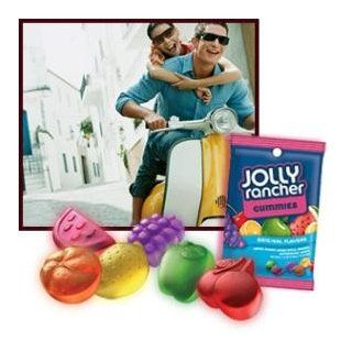 Jolly Rancher Gummies Candy, Assorted Flavors, 7 Ounce Bags (Pack of 12)  Sweet And Sour Gummy Candy  Grocery & Gourmet Food