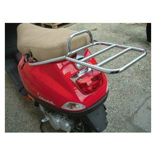 Rear Rack for Top Case for Vespa LX : Powersports Frames And Accessories : Sports & Outdoors