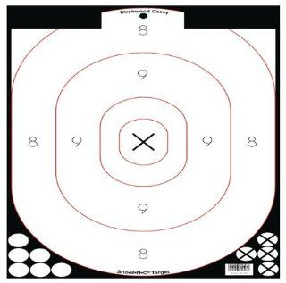 Birchwood Casey Shoot N C White/Black 12x18 Inch Silhouette 100 Targets Plus 34611  Hunting Targets And Accessories  Sports & Outdoors