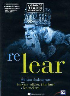 Re Lear (1983) John Hurt, Laurence Olivier, Brian Cox, Colin Blakely, Leo Mckern, Diana Rigg, Jeremy Kemp, Michael Elliott Movies & TV