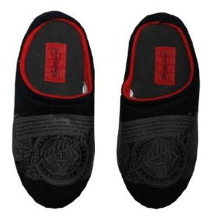 Budweiser Logo Label Beer Alcohol Mens Slippers Select Shoe Size: 10/11: Shoes