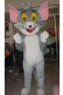 Tom and Jerry Tom Cat Mascot Costume Adult Size: Clothing