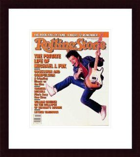 Rolling Stone Cover of Michael J. Fox / Rolling Stone Magazine Vol. 495, March 12, 1987, Movie Print by Deborah Feingold   Unframed Prints