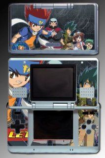 Beyblade Metal Fury Master Fusion Anime Video Game Vinyl Decal Skin Protector Cover for Nintendo DS: Video Games