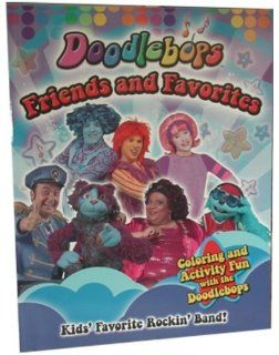 """Doodlebops""   Friends & Favorites""   Coloring Book. (48 Pieces) : Inch Doodlebops Inch Friends And Favorites Inch Coloring Book Dot : Office Products"