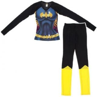 DC Comics Women's Batgirl Snug Fitting Pajama Set: Dc Comics Pajamas: Clothing