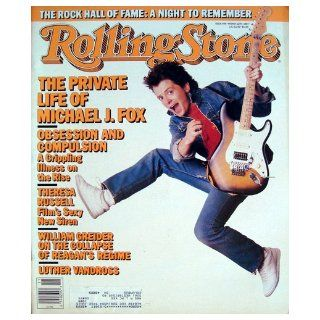 Rolling Stone Magazine March 12, 1987 Issue 495 Michael J. Fox Cover: Books
