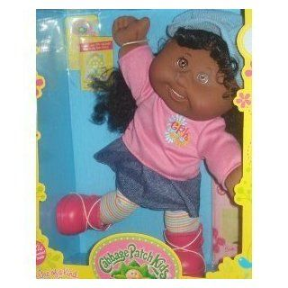 """Cabbage Patch Kids Doll African American Premiere Collection """"Playful Girl"""""""