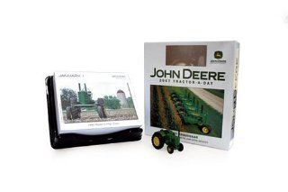 John Deere Tractor A Day 2007 with toy Andy Kraushaar 9780760324783 Books