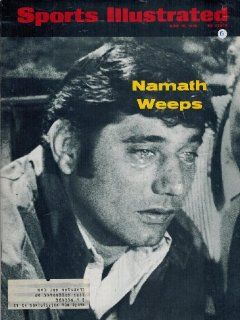 Sports Illustrated June 16, 1969 Joe Namath Cover, GradeB Sports Collectibles