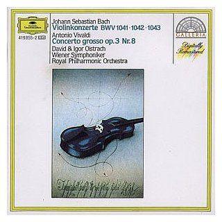 Bach Violin Concerti BWV 1041 1043 / Vivaldi Concerto Grosso RV 522 Music