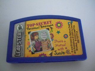 Junie B Jones Top Secret Personal Beeswax Leapster Game Cartridge  Early Childhood Development Products