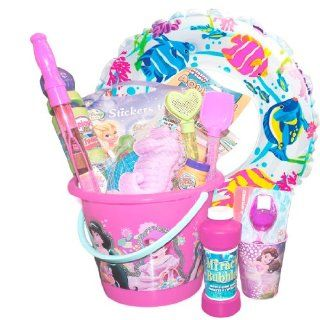 """Disney Princess """"Pool and Beach"""" Swim Toys Gift Basket with Princess Toys Galore (Over 25 items) Toys & Games"""