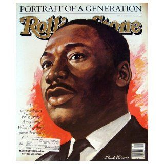 Rolling Stone Magazine April 7, 1988 Issue 523 Martin Luther King Jr. Cover: Books