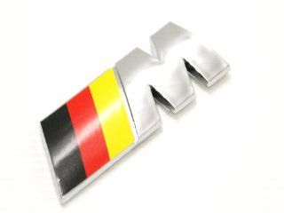 Bmw M Power Black Red Yellow M3 M5 320 325 330 525 535 Logo Emblem Decal