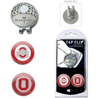 Team Golf Ohio State University Buckeyes 2 Marker Cap Clip (637556228475)