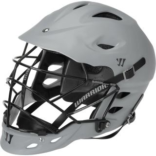 WARRIOR TII Matte Lacrosse Helmet, Grey