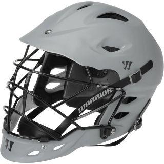 WARRIOR TII Matte Lacrosse Helmet, Grey
