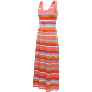 COLUMBIA Womens Reel Beauty II Maxi Dress   Size Large, Hot Coral