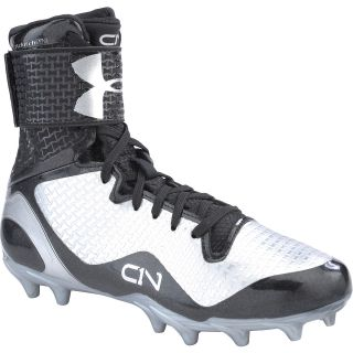 UNDER ARMOUR Boys Cam Highlight Jr. MC High Football Cleats   Size: 6, Black