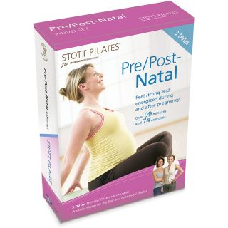 STOTT PILATES Pre/Post Natal Pilates 3 DVD Set (DV 81206)