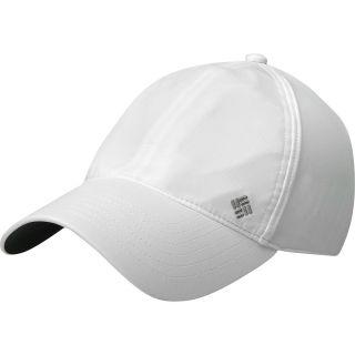 COLUMBIA Womens Coolhead III Ball Cap, White