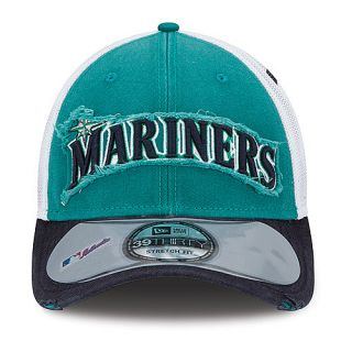 NEW ERA Mens Seattle Mariners 39THIRTY Clubhouse Cap   Size: M/l, Teal