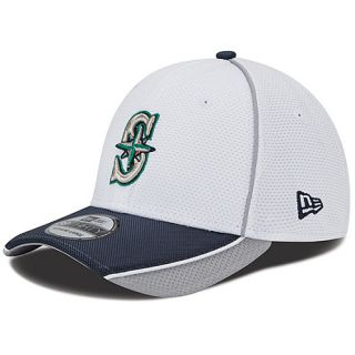 NEW ERA Mens Seattle Mariners Abrasion Plus 39THIRTY Stretch Fit Cap   Size: