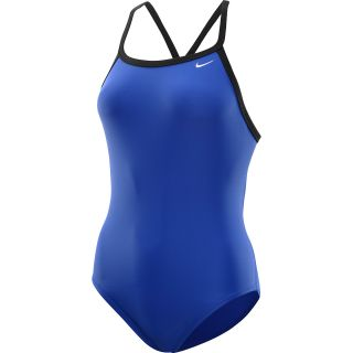 NIKE Womens Core Solid Lingerie Tank One Piece Swimsuit   Size 30, Varsity