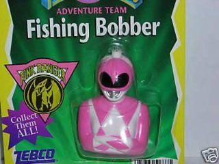 Mighty Morphin Power Ranger Fishing Bobber Pink Ranger : Other Products : Everything Else