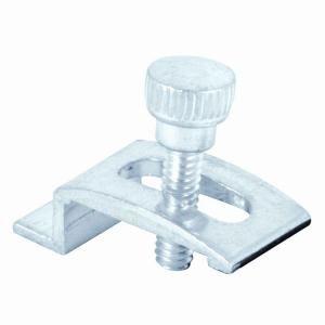 Prime Line 1/4 in. Aluminum Storm Door Clips (8 Pack) T 8724