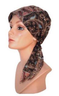 Chemo Fashion Head Scarf Vintage Brown