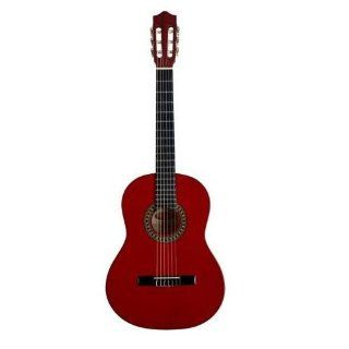 Stagg Full Size Classical Acoustic Guitar   Transparent Red