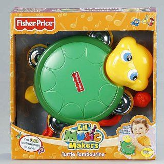 Fisher Price Lil' Music Makers Turtle Tambourine  Baby Musical Toys  Baby