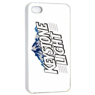 Keystone Light Beer Logo Case for Iphone 4/4s White: Cell Phones & Accessories