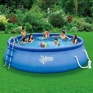 """SUMMER ESCAPES ABOVE GROUND FAMILY SWIMMING POOL 16' X 42"""" QUICK SET Toys & Games"""