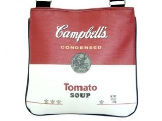 Campbells Soup Tomato Can Collectible Sling Cross Body Bag Purse Shoes
