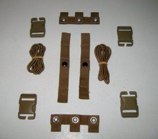 2 Sets USMC EAGLE INDUSTRIES COYOTE MODULAR TACTICAL VEST MTV SCALABLE PLATE CARRIER REPAIR KIT NSN: 8470 01 552 2467 : Other Products : Everything Else