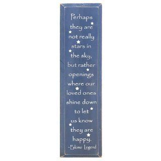 PERHAPS THEY ARE NOT REALLY STARS PLAQUE OR SIGN   Decorative Plaques